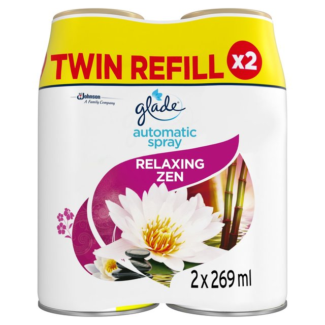 Glade Automatic Spray Twin Refill Relaxing Zen