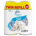 Glade Automatic Spray Twin Refill Clean Linen