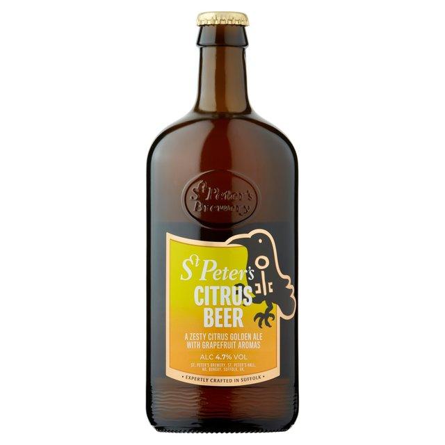 St Peters Citrus Beer (ABV 4.7%)