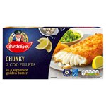 Birds Eye 2 Cod Fillets in Original Batter