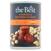Morrisons The Best Spanish Chorizo & Butterbean Soup