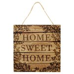 Morrisons Home Sweet Hanging Plaque