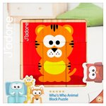 Animals Wooden Block Puzzle Toy