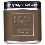 Baylis & Harding Black Pepper & Ginseng Luxury Fragrance Candle