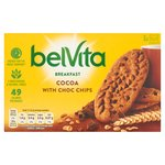 BelVita Breakfast Biscuits Cocoa with Chocolate Chips 5 Pack