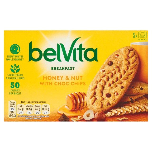 BelVita Breakfast Biscuits Honey & Nuts 5 Pack