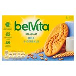 BelVita Breakfast Biscuits Milk & Cereals 5 Pack