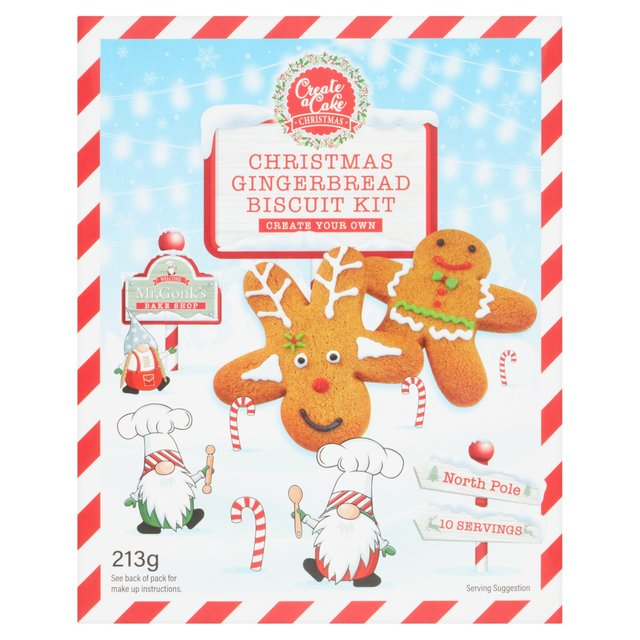 Create a Cake Gingerbread 2 in 1 Kit