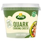 Arla Quark Cooking Cheese Garlic & Herb
