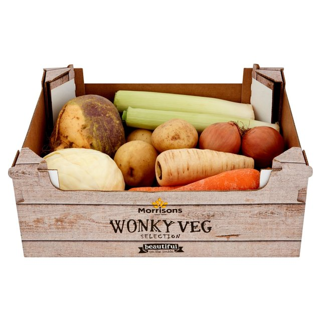 Morrisons Wonky Vegetables Selection Box