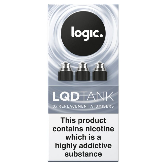 Logic Liquid Replacement Atomisers 3Pk