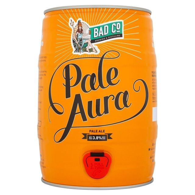 Bad Co Pale Aura Keg