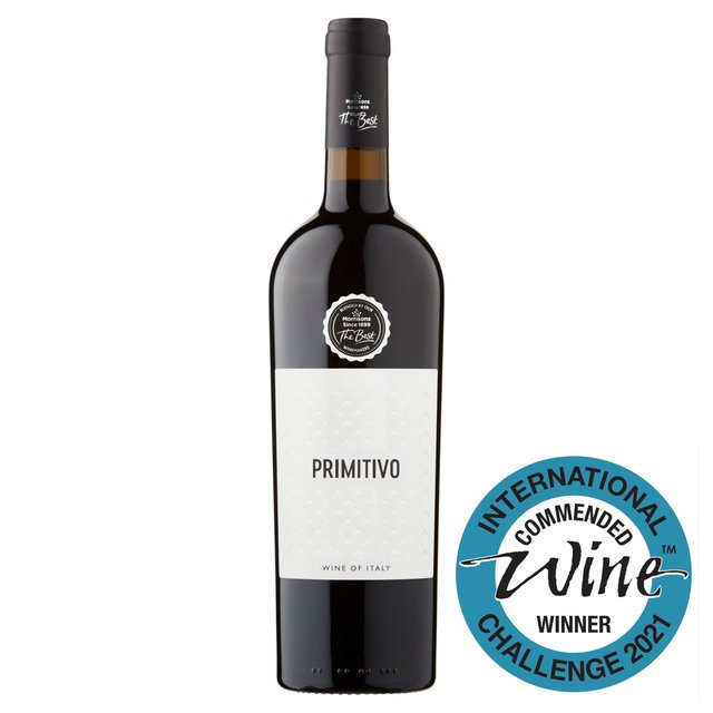 The Best Primitivo 2016, Italy