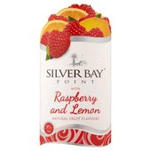 Silver Bay Point with Raspberry & Lemon