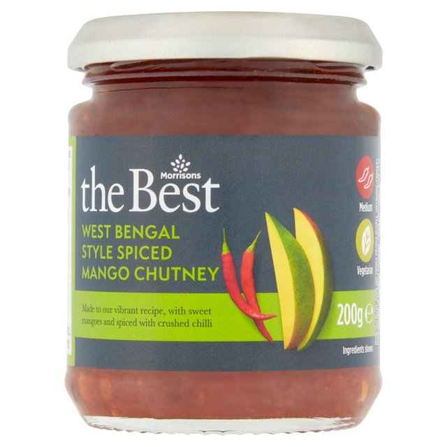 Morrisons The Best Bengal Spiced Mango Chutney