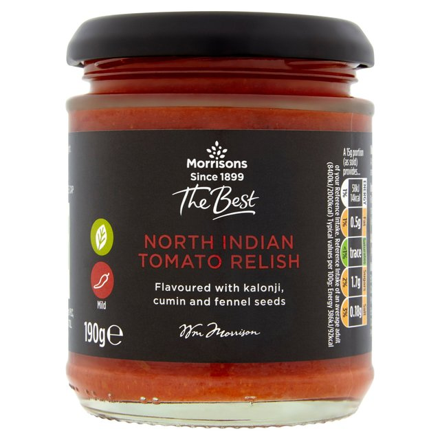Morrisons The Best North Indian Tomato Relish