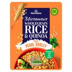 Morrisons Microwave Pearl Wheat Quinoa & Wholegrain Rice