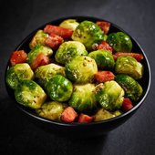 Morrisons The Best Sprouts With Gammon