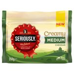 Seriously Creamy Medium Cheddar