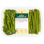 Morrisons Baby Corn Tenderstem Broccoli & Fine Beans