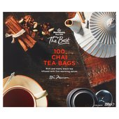 Morrisons The Best 100 Chai Tea Bags