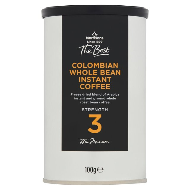 Morrisons Morrisons The Best Whole Bean Instant Coffee 100g