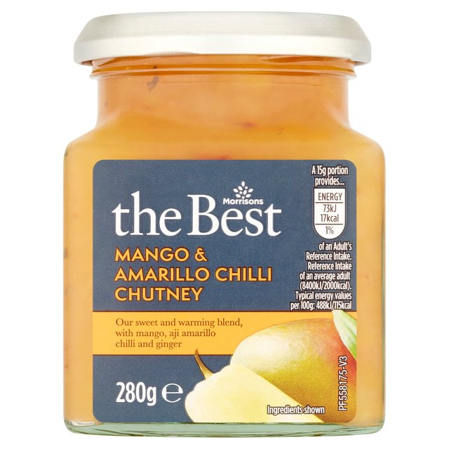 Morrisons The Best Mango And Amarillo Chilli Chutney