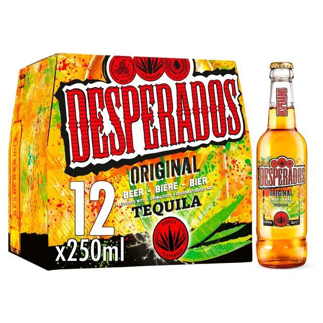 Desperados Tequila Lager Beer Bottles Morrisons