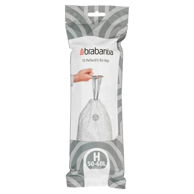 Brabantia 50-60L Extra Strong Perfect Fit Bin Liners