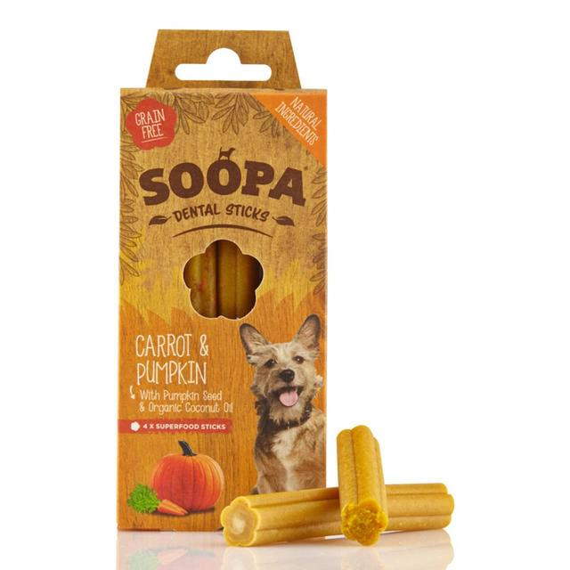 Soopa Pumpkin & Carrot Dental Sticks Dog Treats