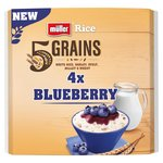 Muller Rice 5 Grains 4 X Blueberry