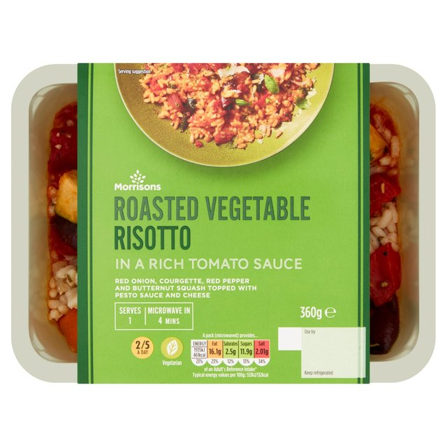 Morrisons Roasted Vegetable Risotto