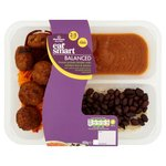 Morrisons Eat Smart Balanced Harissa Falafel With Bean Rice