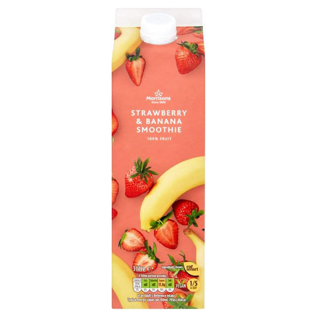 Morrisons Strawberry & Banana Smoothie