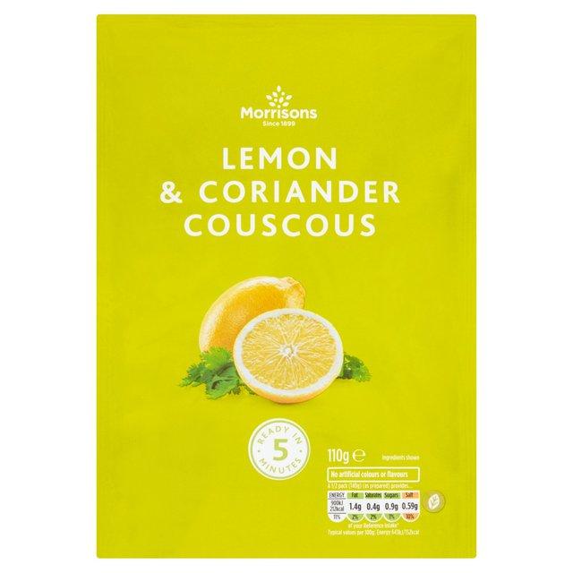 Morrison Lemon & Coriander Couscous 110G