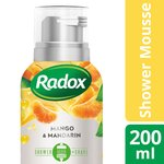 Radox Shower Mousse Feel Bright