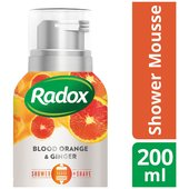 Radox Mousse Feel Vibrant 200Ml