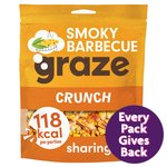 Graze Smokehouse BBQ Crunch 104g