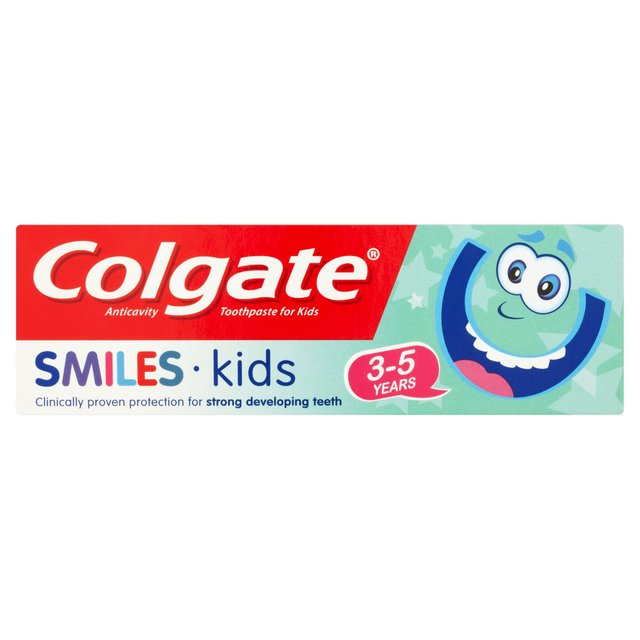 Morrisons: Colgate Smlies Kids Toothpaste 3 - 5 50ml ...