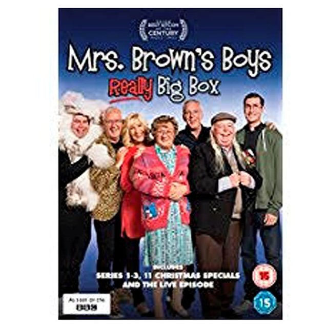 Mrs Browns Really Big Box Dvd