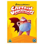 Captain Underpants The First Epic Movie DVD (U)