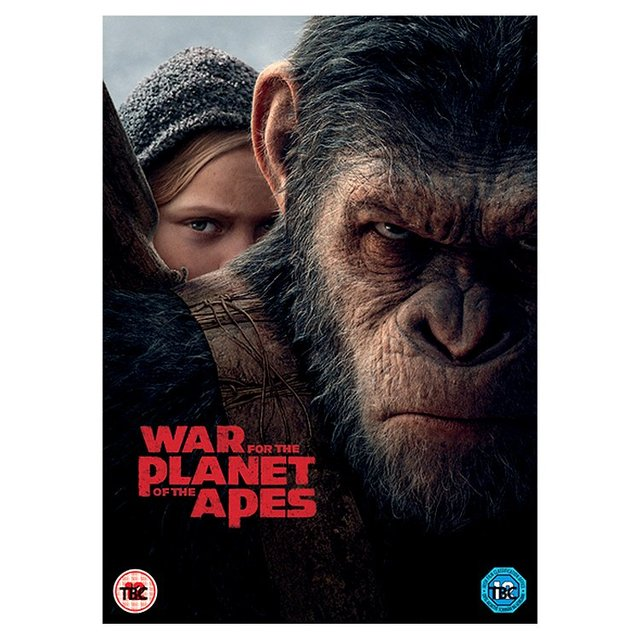 War Of The Planet Of The Apes DVD (12)