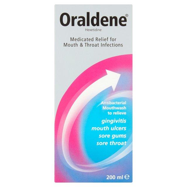 Morrisons: Oraldene Medicated Rinse 200 Ml 200ml(Product Information)