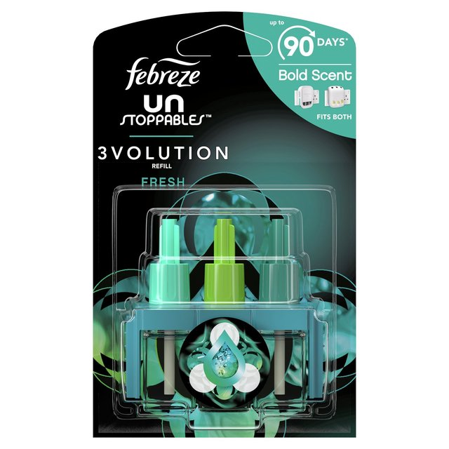 Unstoppables Fresh 3volution Air Freshener Plug In Refills