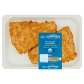 Morrisons Market St 2 Battered Haddock Fillets
