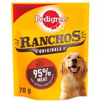 Pedigree Ranchos Beef 70G
