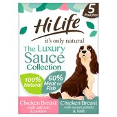 HiLife The Sauce Assortment 5 Pouch Pack