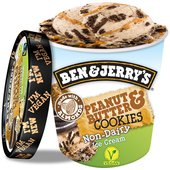 Ben And Jerry's Peanut Butter & Cookies Non- Dairy Ice Cream