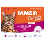Iams Delight Senior Chicken Gravy