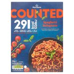 Morrisons Counted Spaghetti Bolognese